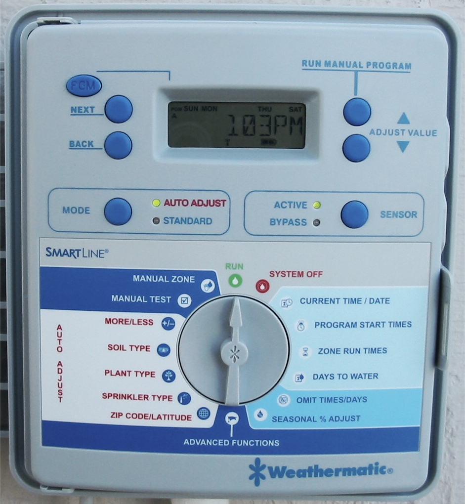 Weathermatic-smartline-irrigation-controller